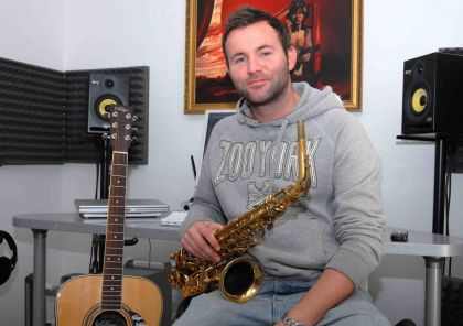 Mark Ellis' Solo Sax 4